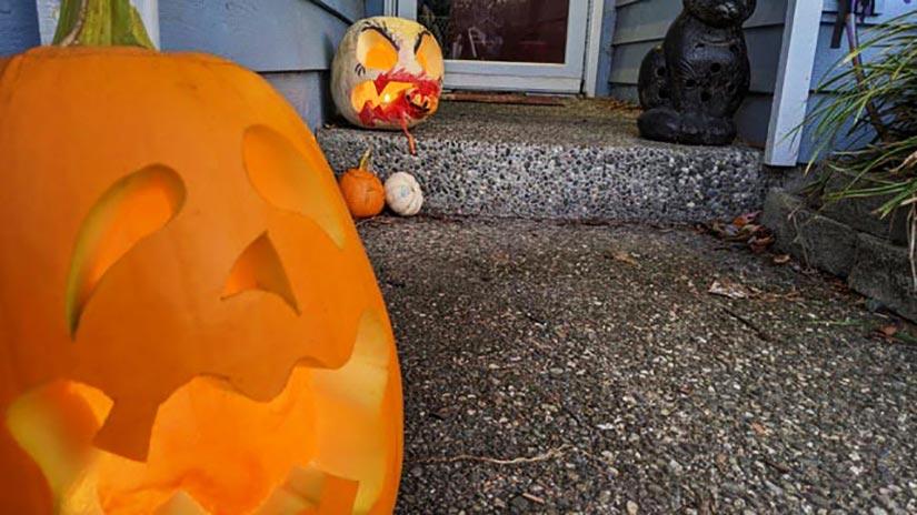 Halloween 2020 - Michael's carvings